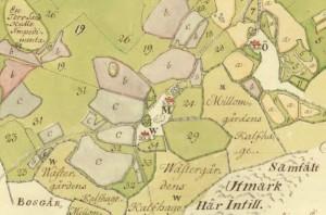 Håvet storskifte 1769