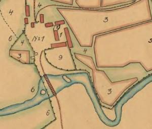 Lantmäteriet 1696, utsnitt